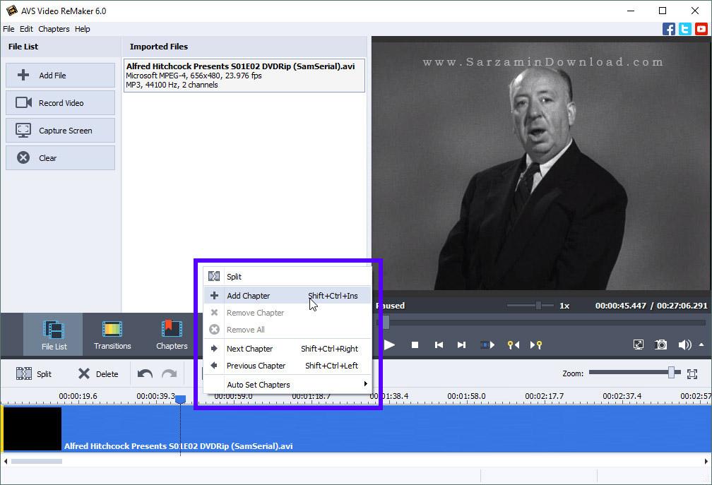 آموزش کار با نرم افزار AVS Video ReMaker