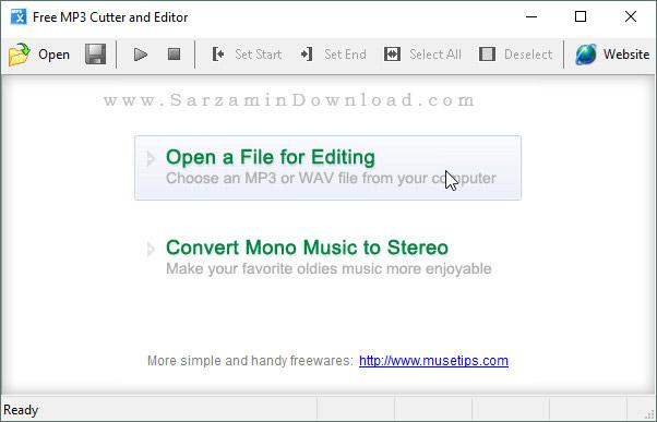 آموزش برش آهنگ و ساخت رينگتون با استفاده از نرم افزار Free MP3 Cutter and Editor
