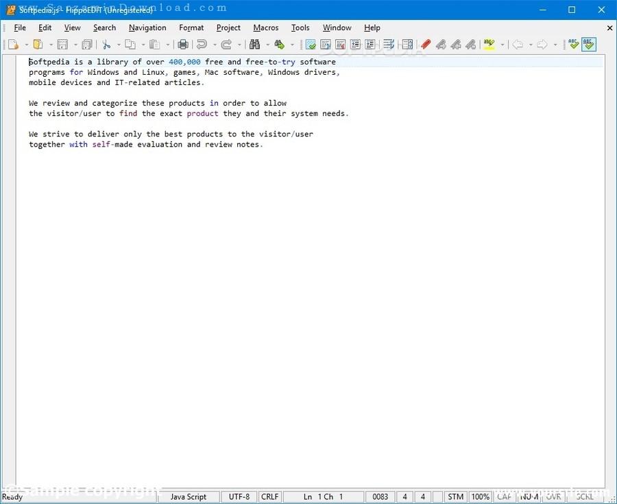 آموزش برنامه نویسی با نرم افزار HippoEDIT