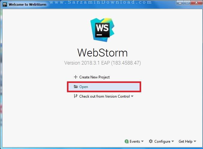 آموزش کار با نرم افزار JetBrains WebStorm